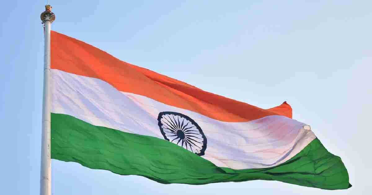 Indian Flag Flying